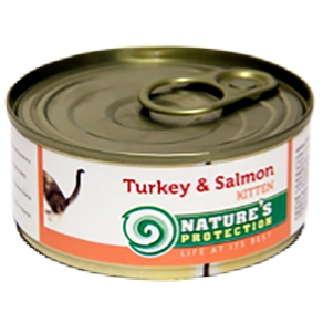 d Kitten Turkey & Salmon 100g